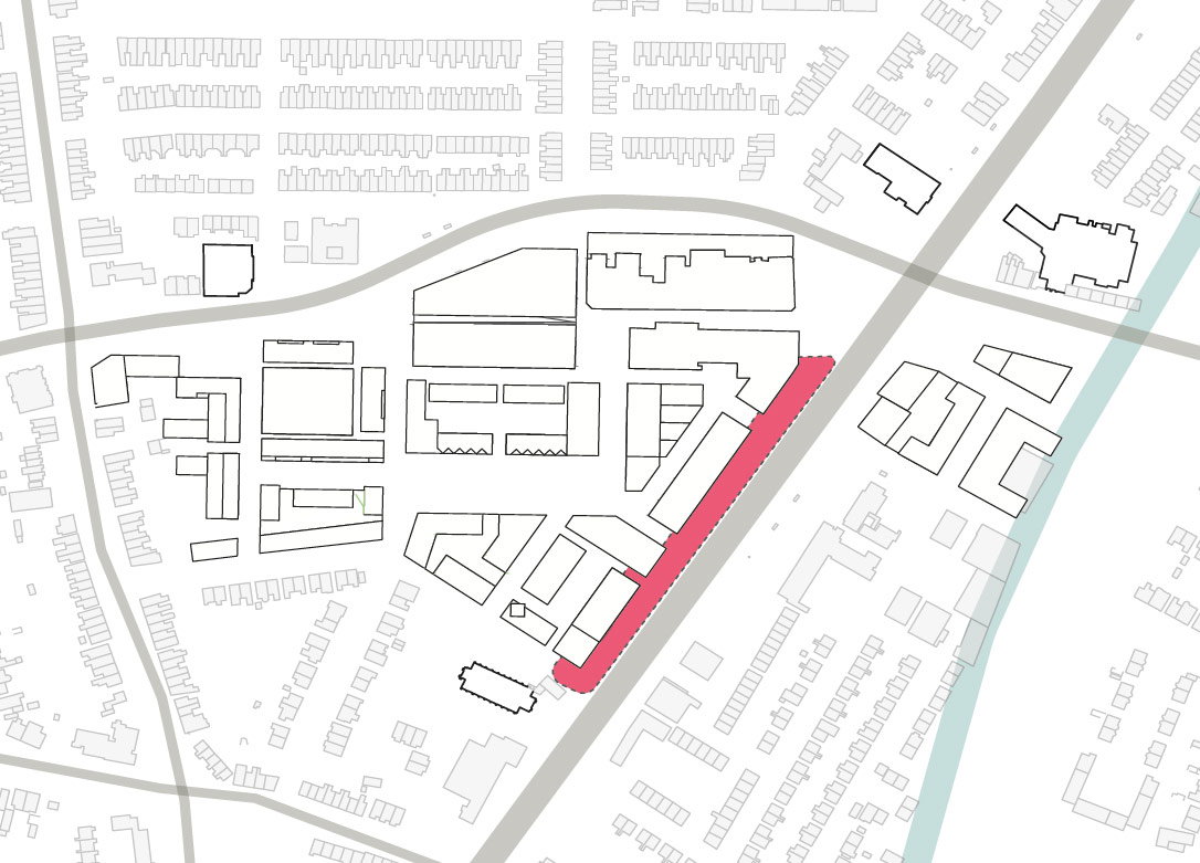 Chester road location plan